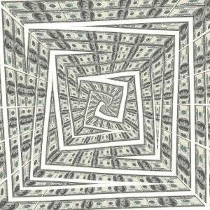money drain swirl