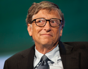 Bill Gates back