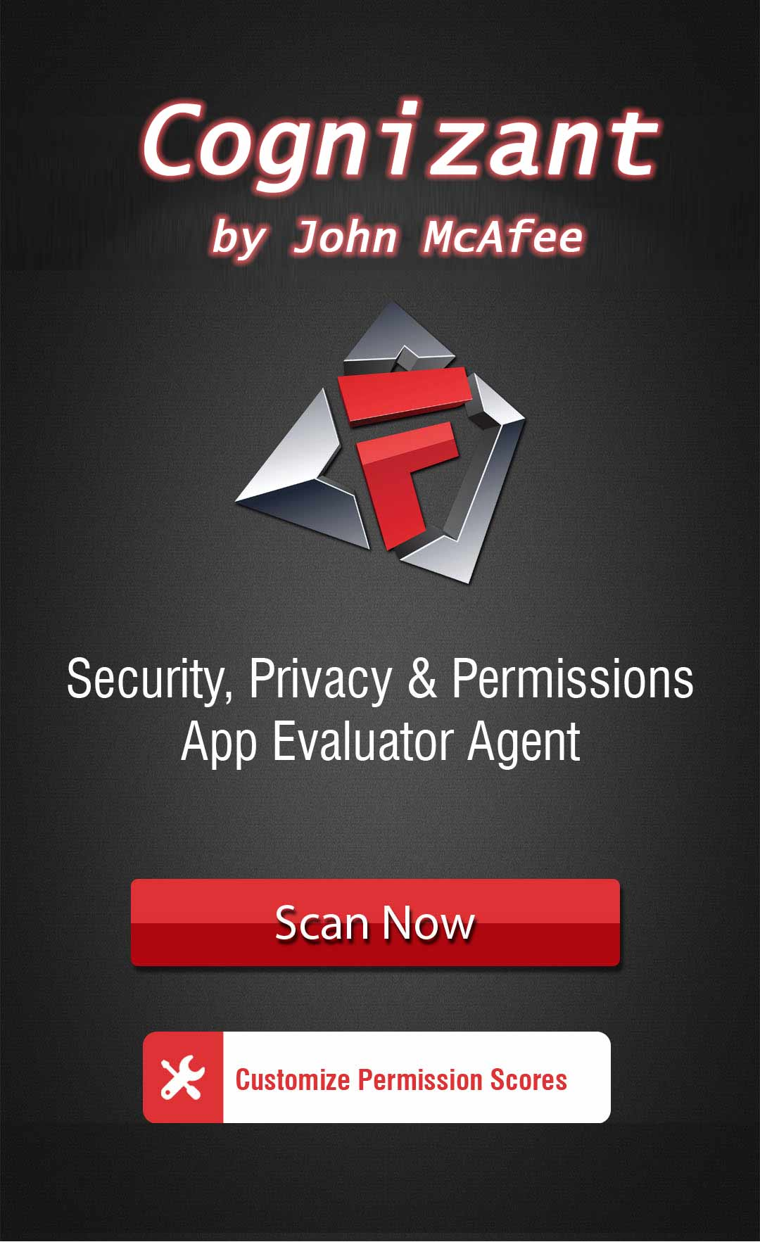John McAfee has had enough of excessive app permissions - introduces