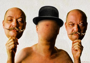 anonymity anonymous choose a face man with hat