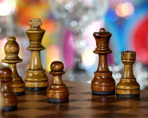 business intelligence BI chess strategy move player