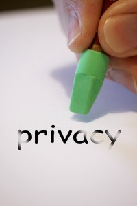 loss of privacy erased