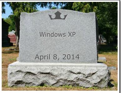 The last days of Windows XP – Security threat?  You bet!