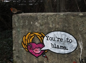 heartbleed blame game grafitti art