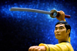 Sulu with Sword