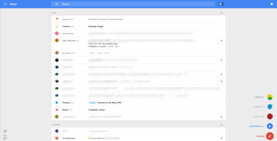 Gmail leaked screenshot