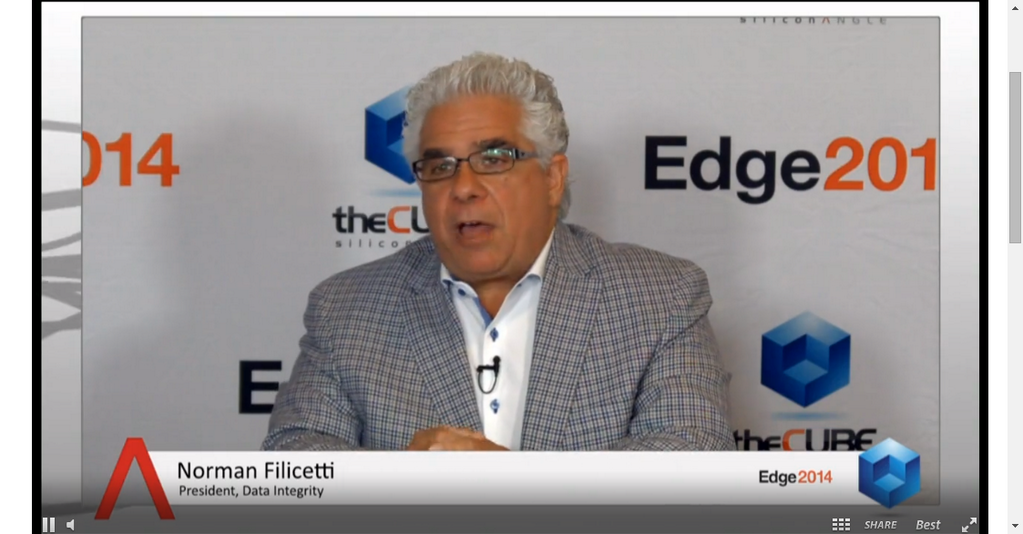 On the move from IBM to Lenovo : Data integrity exec talks relationships | #IBMEdge