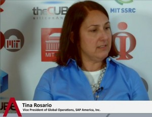 Tina Rosario, VP of Global Operations at SAP America