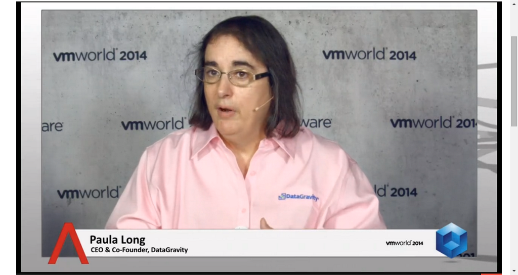 Reinventing storage: Data protection is not just backup| #VMworld 2014