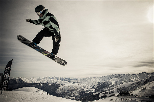 snowboard winter sports