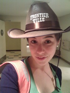 zynga frontierville hat gamer player