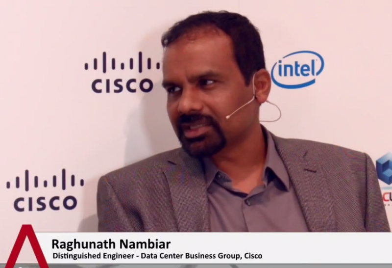 Raghunath Nambiar - Oracle OpenWorld 2014 - theCUBE (Blue)