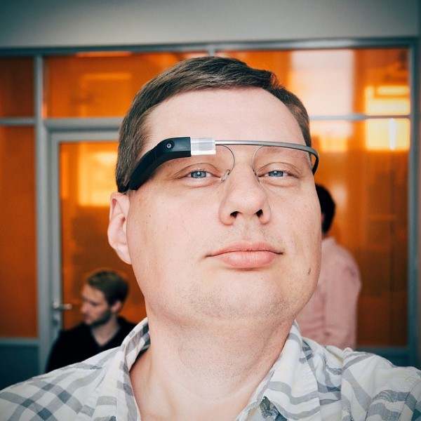 google glass user glasshole
