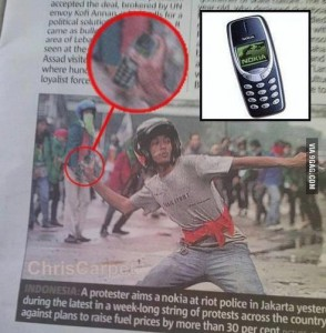 Nokia weapon