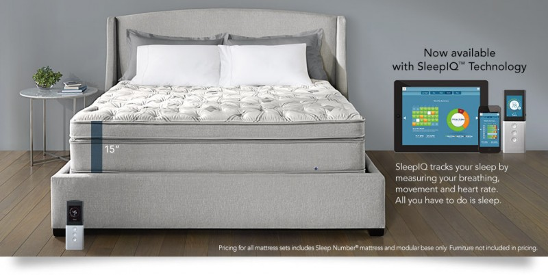 Sleep smart holiday gift guide 5 high tech gadgets for for Sleep number iq bed