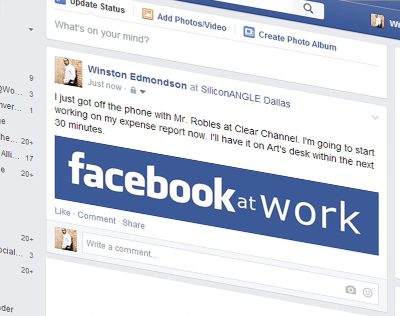 Want to get paid to facebook when facebook at work becomes mandatory