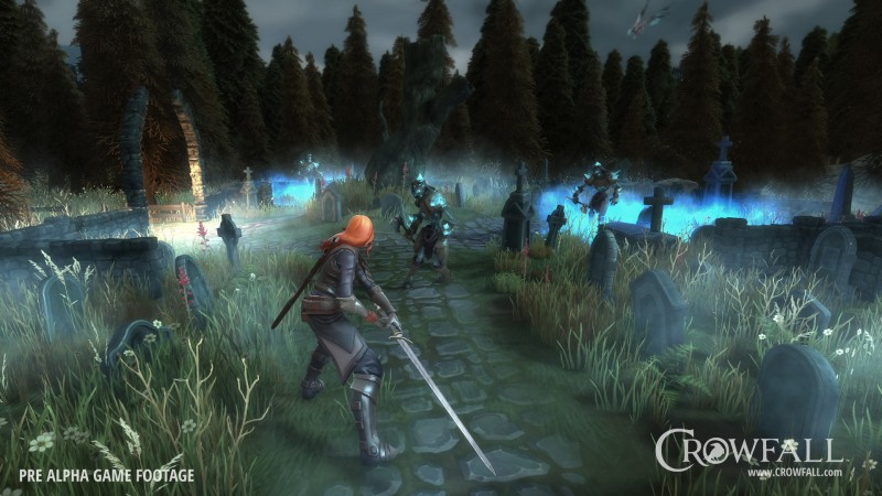 Crowfall Kickstarter hopes to bring 'EVE Online meets Game