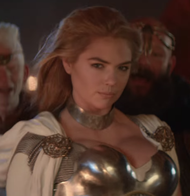 Who is the woman in the ad for game of war hairstyle galleries for