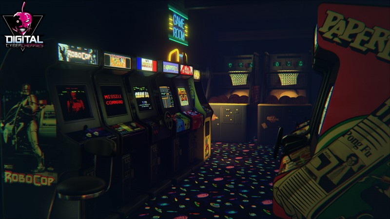 Miss 80s Game Arcades Relive Them In This Vr Tech Demo