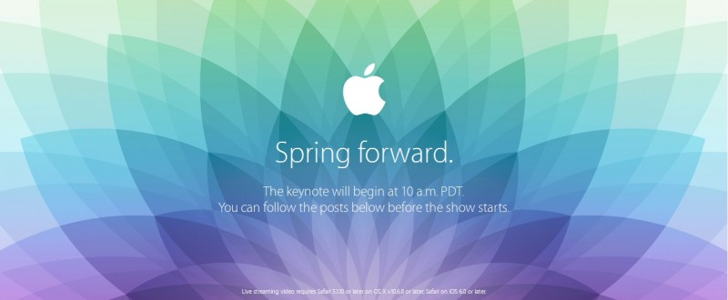Where to watch Apple Watch Spring Forward event