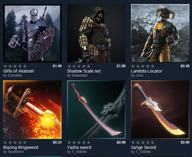 Steam Workshop now lets content creators sell mods, but will