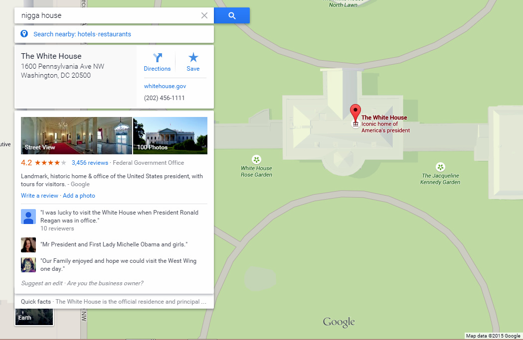 how to find house names on google maps