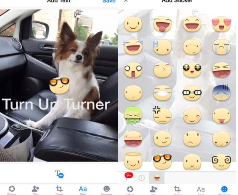 Facebook testing Snapchat style photo editing