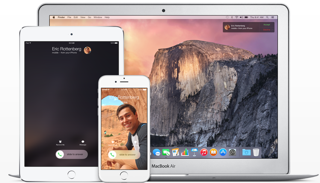 iOS 9 adds cellular Continuity, T-Mobile first U.S. carrier onboard