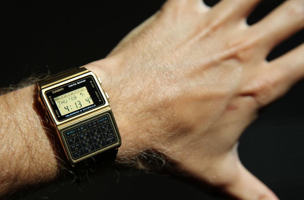 Famed digital watch maker Casio to enter the smartwatch market