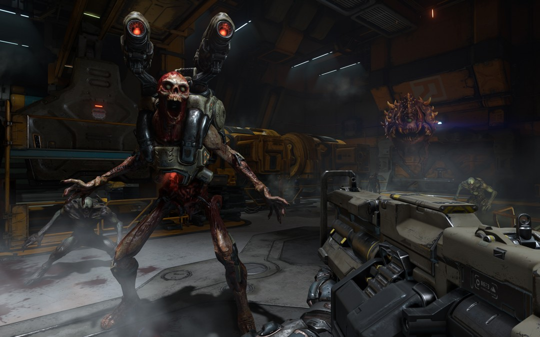 Doom multiplayer: first impressions | #QuakeCon2015