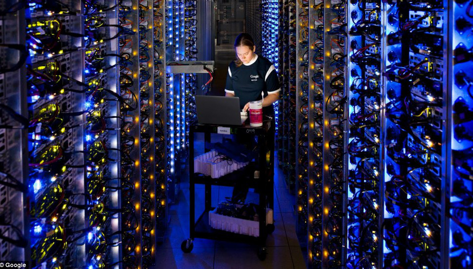 Google will give you 100 PETABYTES of free nearline storage to use its cloud platform