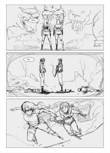 Liberty Draft Comic Page