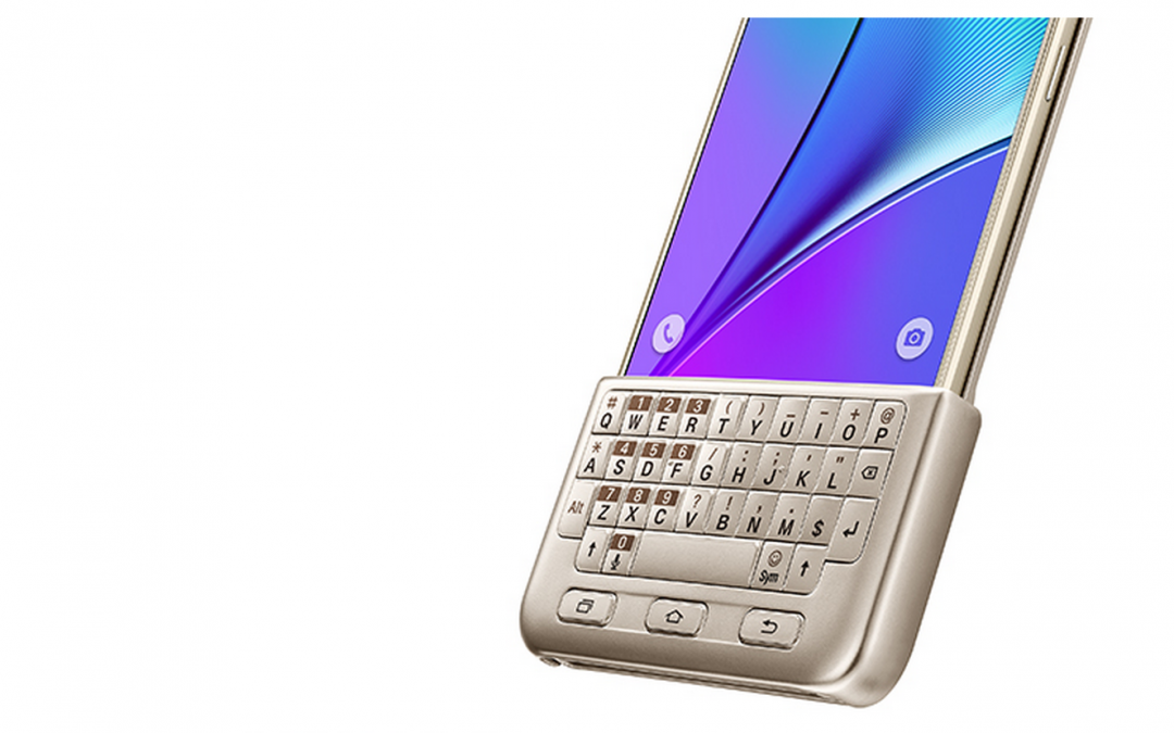 Samsung unveils Galaxy Note 5 with keyboard, improved stylus