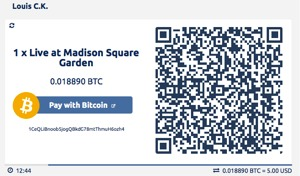 Comedian Louis Ck Now Accepting Bitcoin Through Bitpay Payment Integration Siliconangle