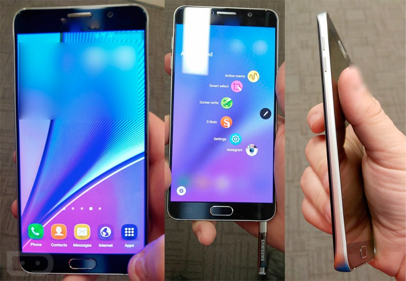 Samsung Galaxy Note 5 pics show no more removable battery or microSD card slot