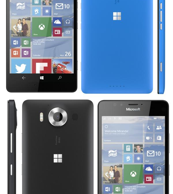 Images of Microsoft's new flagship Lumias leaked