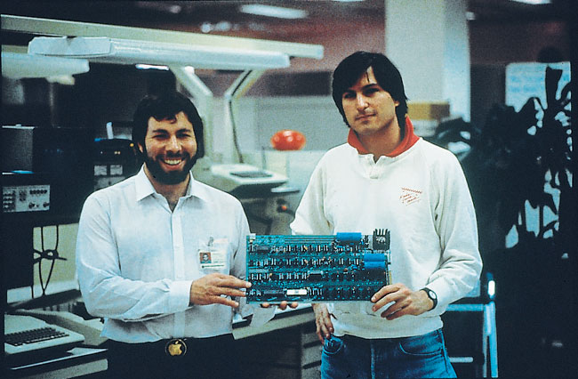 Apple Early Days : Woz steve jobs was a failure in his early days blamed
