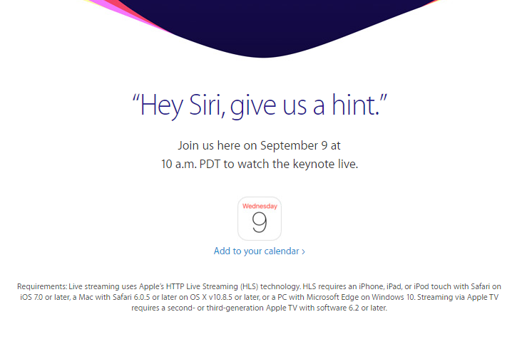 Where to watch Apple's iPhone 6s launch event Sept. 9