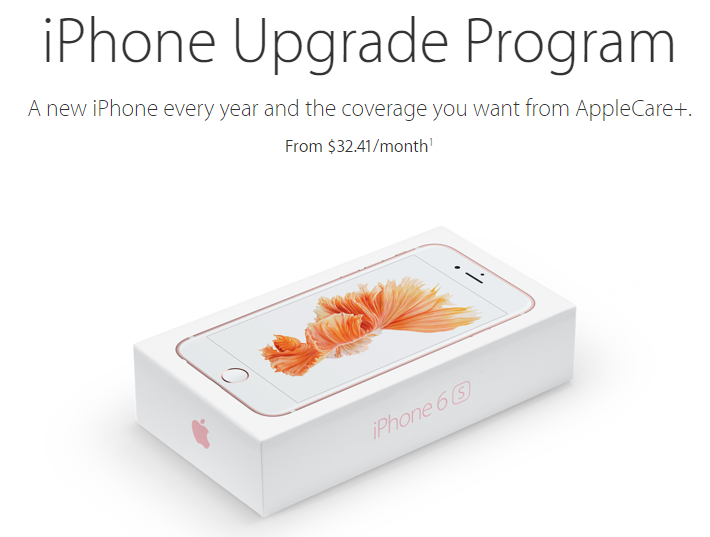 Before you sign up for Apple's iPhone 6s Upgrade Program, read these conditions