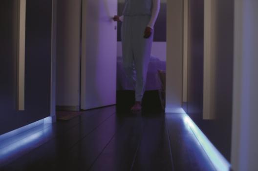 Smart lightstrip from Philips Hue for custom accent lighting