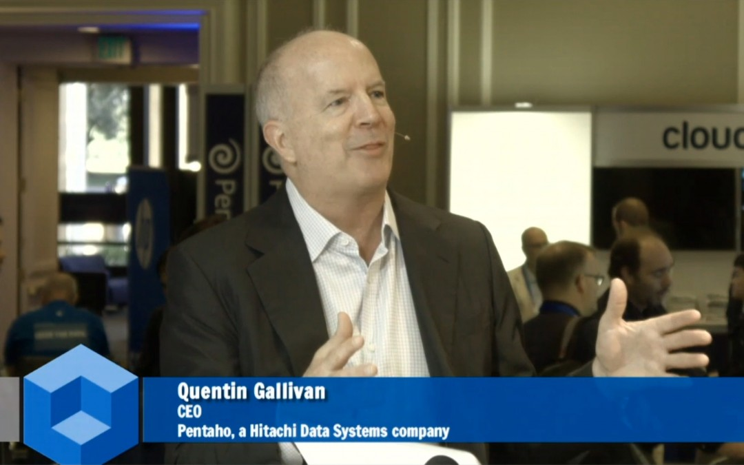 Pentaho's Quentin Gallivan predicts Big Data will get to work in 2016