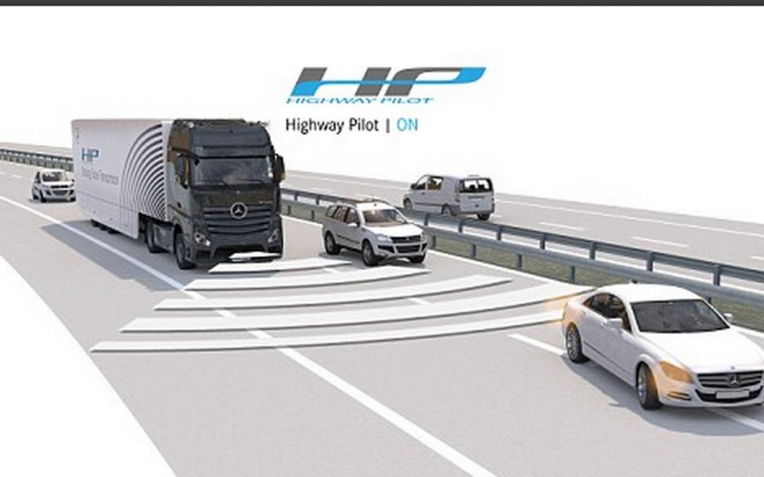 Daimler self-driving semi truck makes first test trek on German autobahn