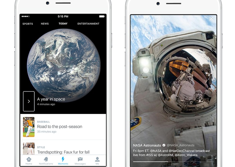 Twitter launches new curated news service called Moments