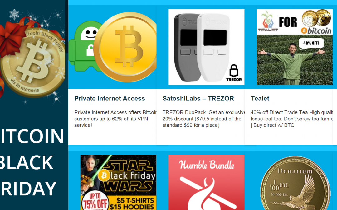 BitcoinBlackFriday.com now live with over 150 deals in bitcoin
