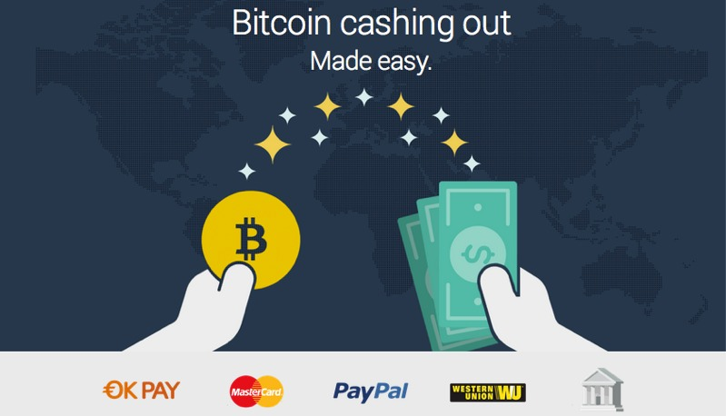 Bitcoin exchange Coinizy launches Bitcoin to PayPal redemption service