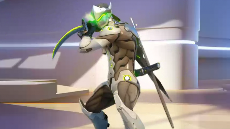 Genji is apparently Hanzo's brother and, if the trailer is to be believed, there's a lot of bad blood there.