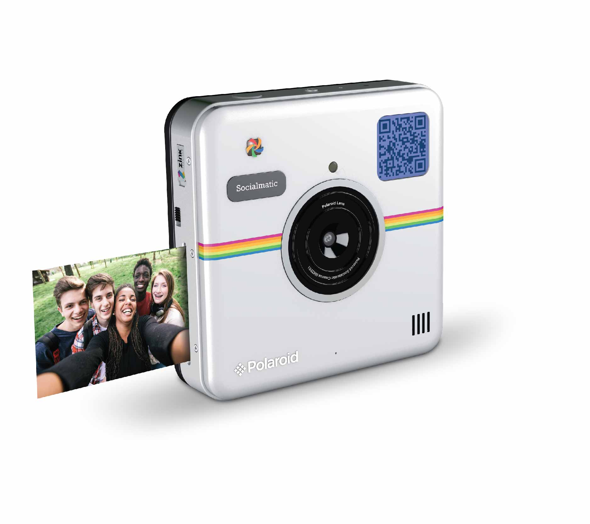 Holiday gift ideas for chic and trendy women techgiftguides2015 polaroid socialmatic instant digital camera negle Image collections