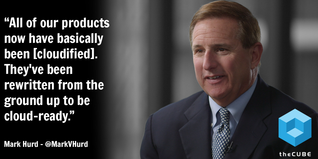 Cloud wars: Oracle CEO Mark Hurd's vision to gain cloud market share