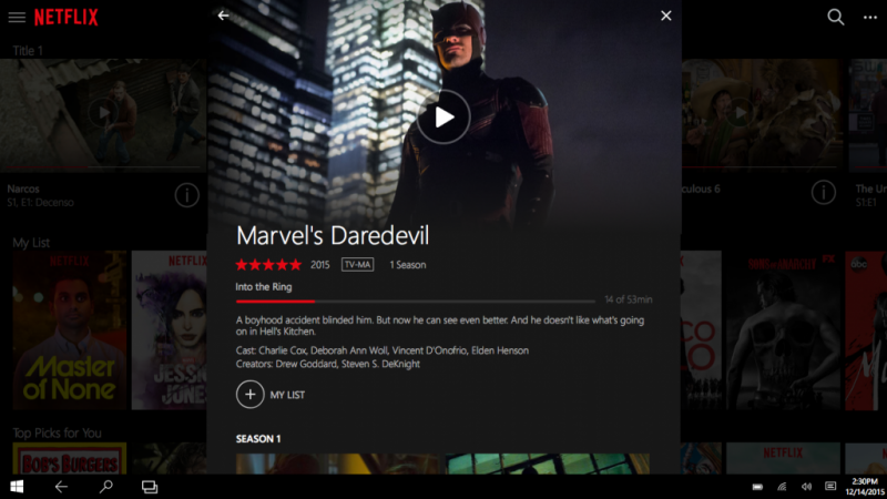how to access netflix download without app