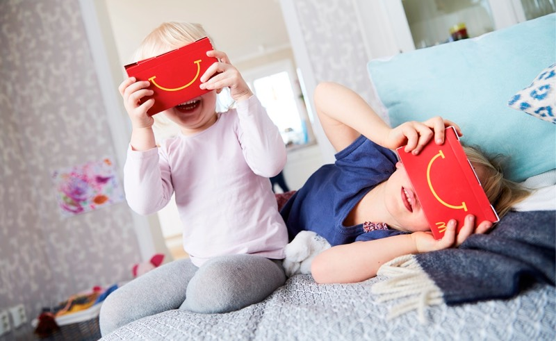 'Happy Goggles' Bring Virtual Reality to Swedish McDonald's